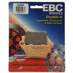 "DAYTONA 675 & R 2013-14 (Brembo Caliper) ""REAR BRAKE PADS"" EBC Sintered ""HH"" [1 PAIR] FA-213HH"
